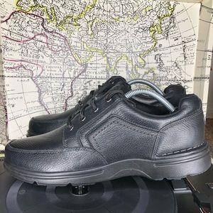 ROCKPORT EUREKA Slip resistant shoe black leather